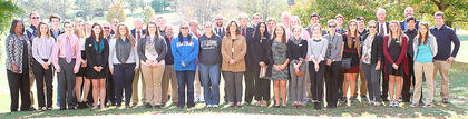 Photo courtesy of Donald Richie/Richie Photography Youth day participants. Pictured are those students who were elected to participate in Youth Day, which was held on Tuesday.  Also pictured, to the left, is Agriculture Commissioner Ryan Quarles, who was the keynote speaker at Youth Day.   In no particular order, they are: Mayors Lindsey Burberry and Callie Powell; State Representatives Nate Boyers, Logan Anderson and Reagan Gorman; Sheriff Colby Adams; Deputy Sheriffs Jon Devin Phillips and Russ Faulconer; Chief of Police Devin Blanton; Assistant Police Chiefs Brack Noble and Matt Turner; Fire Chief Jordan Ramirez; Assistant Fire Chiefs Donie Brewer and Austin Harless; Circuit Clerk Cierrra Richie; Deputy Circuit Clerk Anjelica Hernandez; County Clerk Alysia Brossart; City Clerk Cassidy Partin; Coroner Shelby Roberts; Deputy Coroner Emily Hendrix and Margot Gildersleeve; County Atty. Rachel Eckert; Asst. County Atty. Alexis Lanza; Commonwealth's Atty. Andrea Hernandez; Asst. Commonwealth's Atty. Dustin Abner; District Judges Emma Darnell, Olivia Eckert and Alan Cabrera; City Clerk Courtney Gaunce; Circuit Judges Lonnie Yarnell and Sara Ann Ledford; Family Court Judges Jami Miller and Natalie Kinney; County Judge-Executives Lexi Anderson and Sarah Doyle; Harrison County Jailer Dylan Hill and Austin Joy; Board of Education members Cassidy Mullins, Joe Banfield and Kevin Barnett; School Superintendent Danielle Farmer; Commissioners Ben Bradford, Jessica Duncan, Rusty Myers and Peyton Browing and Magistrates Ryan Huff, Austin Hill, Luke Slucher, Isaac Yearsley, Wes Fowler and Hannah Stanley.