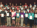 2016 Harrison County Middle School Awards