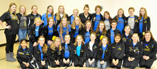 "<div class=""source""></div><div class=""image-desc"">Members of the Town & Village 2013 Honor Company are: top row, from left, Taylor Robinson, Quinn Lehmann, Alexis Lanza, Jillian Hughes, Emmalee Lutes, Delaney Green, Caroline Rohlfing, Emily McGuire, Liz Wade, Tamaira Robinson, Elizabeth McGuire, Christina Wilson.  Middle Row: Laurel Gibson, Olivia Eckert, Rachel Eckert, Emily Bell, Gracie Roberts, Kelsey Hutchison, Samuel Jolly, Amelia Robinson, Becca Bailey.  Bottom Row: Rachel Hanks, Jenna Ishmael, Hannah Hamelback, Lyndsay Johnson, Kenzie Jones, Anna Midden, Reagan Earlywine, Rachel Graves-Dobson, Caroline Morrison. Absent were Brittany Bennett, Brannan Herrington, Adrienne Letcher, Bonnie Wright.</div><div class=""buy-pic""></div>"