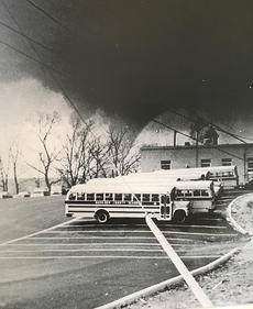 """<div class=""""source"""">John LaBore</div><div class=""""image-desc"""">Former Cynthiana Democrat photographer John LaBore captured the photo of a tornado as it passed through Harrison County on April 3, 1974. This photo has been used numerous times over the years when stories about the 1974 super cell storm were written. A copy of the photo hangs in the front office at The Cynthiana Democrat.</div><div class=""""buy-pic""""><a href=""""/photo_select/44940"""">Buy this photo</a></div>"""