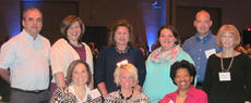 "<div class=""source""></div><div class=""image-desc"">HMH representatives at the dinner were: front row, from left, Becky Jenkins; Traci Taylor and Jackie Burrell; back row, Dave Mellett, Mollie Smith, Sheila Currans, Lesley Roark, Jerrod Davis and Martha Sullivan.</div><div class=""buy-pic""></div>"