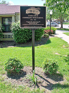 """<div class=""""source""""></div><div class=""""image-desc"""">Hey, Cynthiana High School graduates and friends, take a look at the newly refurbished CHS marker at the former site on Bridge Street (now Clifton Village). We are getting ready for the annual CHS Alumni Banquet June 27. Everyone welcome.</div><div class=""""buy-pic""""></div>"""