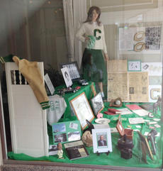 "<div class=""source""></div><div class=""image-desc"">On June 23, several members of the Class of 1959 and others decorated the windows at Attorney Kelli Mulberry's office on Pike Street to help commemorate the upcoming annual Cynthiana High School Alumni Banquet. A collection of memorabilia from various alumni represents a brief history of the early Cynthiana elementary schools: Banneker, St. Edward and Marshall schools as well as the former Cynthiana High School. On June 28, the class of 1959 will be celebrating their 55th year reunion along with other former students of CHS at the Prizing House beginning at 5 p.m.</div><div class=""buy-pic""></div>"
