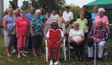 "<div class=""source""></div><div class=""image-desc"">A cookout was held on Aug. 30  by the Harrison County Senior Citizen's Center at the farm of Marie Graves. Attending were Wanda Henry, Geneva Roark, Katherine Price, Hazel Ramsey, Raymond Frederick, Barbara Frederick, Armetta Fryman, Jacki Ledford, Robin Florence-Director, Dwayne Florence, Ronald Thompson, Wilma Thompson, Dr. G.R. Tanner, Elizabeth Tanner, George Bradford, Ruby Neal, Marie Graves, and Adrienne Bramel-activity director. Ware Funeral Home supplied the tents and chairs for the event.</div><div class=""buy-pic""></div>"