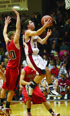 """<div class=""""source"""">courtesy of Donald Richie/Richie's Photography</div><div class=""""image-desc"""">Eric Sanders goes high in the lane last Friday against Pendleton County. Both the Breds and Fillies came out as winners in the Homecoming double header against the Wildcats and Lady Wildcats.</div><div class=""""buy-pic""""><a href=""""http://web2.lcni5.com/cgi-bin/c2newbuyphoto.cgi?pub=081&orig=s-eric-sanders_7302.jpg"""" target=""""_new"""">Buy this photo</a></div>"""