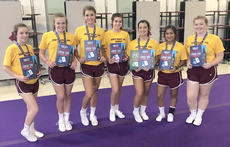 """<div class=""""source""""></div><div class=""""image-desc"""">HCHS CHEER team just completed its Summer UCA camp. There were seven girls who made UCA All-American. Pictured from left, Jessica Florence (freshman), Alexia Flora (junior), Abby Stroub (junior), Emma Moore (sophomore), Lauren Hitch (senior), Sarah Allison (junior), and Jacqueline Smith (junior).</div><div class=""""buy-pic""""></div>"""