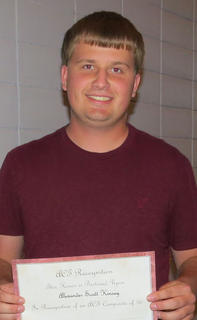 Junior Alex Kinsey scored a perfect score of 36 on the ACT.