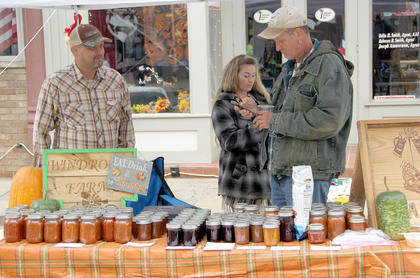 Jams, jellies, preserves, salsa, chocolates and beer cheese were homemade by Windrock Farms.