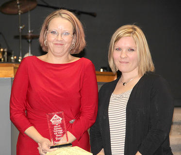 Health Care Professional went to Truly Pennington. She was nominated by Ashley Gaunce.