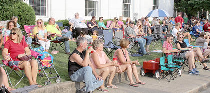 The biggest crowd on record attended last weekend's Summer Concert Series.