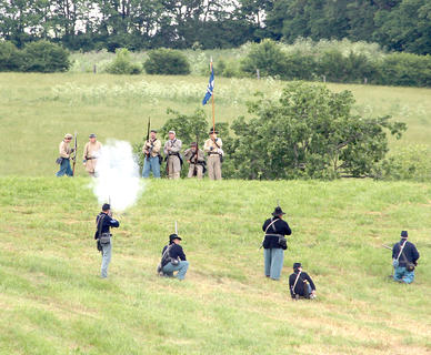 The battle at Ashford Acres.