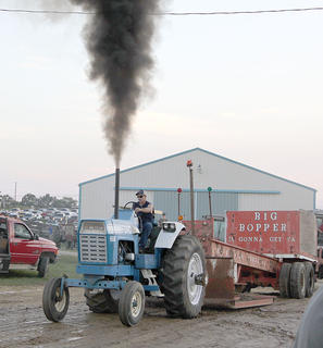 Pictures just cannot reproduce the roaring engines that were on display at the tractor and truck pulls.