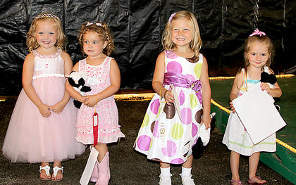 Little Princess Kennedy Mattox, first, Layla Vance, second, Mallory Taylor, third, Brooklyn French, Most Photogenic.