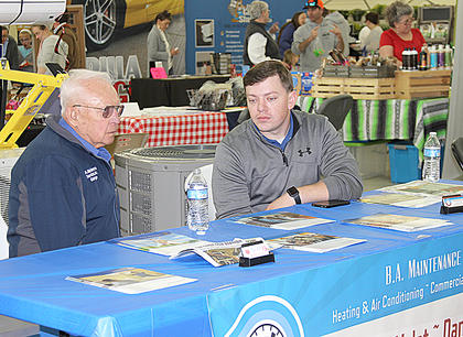 BA Maintenance welcomed discussions about heating and air conditioning.