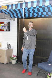 Lexington Tent and Awning was a first-time exhibitor at the Home and Garden Show.