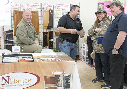 Nhance representatives talked about preserving and improving everything wood.