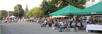 A big crowd was on hand for the July Summer Concert Series.
