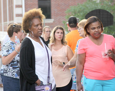 Another big crowd was on hand for the Summer Concert Series.