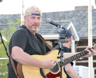 Kenny Owens and Group Therapy played at the July Summer Concert Series.