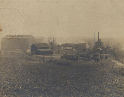 Jim Swinford, of Cynthiana, submitted this old picture of the VanHook Distillery that was located in the A. Keller Dam area. The picture was taken in the early years of the 1900s.