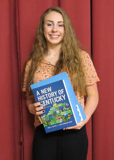 University of Kentucky Book Award was presented to Katie Stonich.