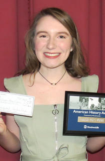 Woodmen of the World Award. Addison Moore (also received the George Washington Book award, and AP French award).